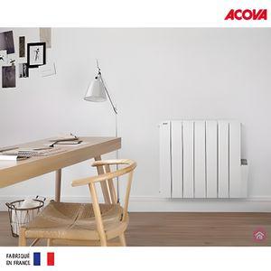 RADIATEUR ÉLECTRIQUE Radiateur electrique Acova ATOLL LCD 750W inertie