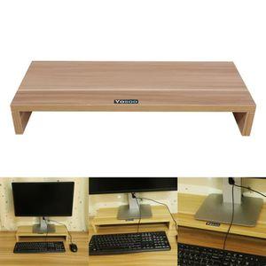 FIXATION ÉCRAN  support d'écran ordinateur Panneau en bois Support