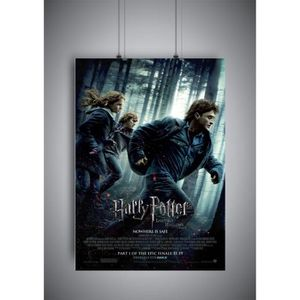 AFFICHE - POSTER Poster Harry Potter 7 Harry Potter and the Deathly