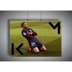 AFFICHE - POSTER Poster Kylian Mbappe Celebration PSG wall art 03 -