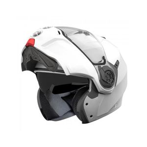 CASQUE MOTO SCOOTER CABERG CASQUE MODULABLE DROID UNI BLANC METALISE B
