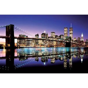 poster mural new york achat vente poster mural new york pas cher cdiscount. Black Bedroom Furniture Sets. Home Design Ideas