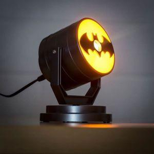 LAMPE A POSER Lampe projecteur DC Comics: Logo Batman