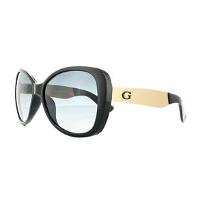 LUNETTES DE SOLEIL Guess Sunglasses GU7392 01B Shiny Black Grey Gradi f6a87f111df8