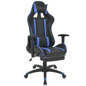 CHAISE Chaise de bureau inclinable avec repose-pied Faute