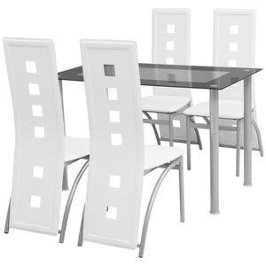 TABLE DE CUISINE  Ensemble à dîner 5 pièces Ensemble de table et cha