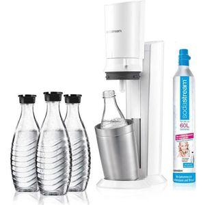 MACHINE À SODA Sodastream Crystal 2.0 Machine à gazéifier avec 3
