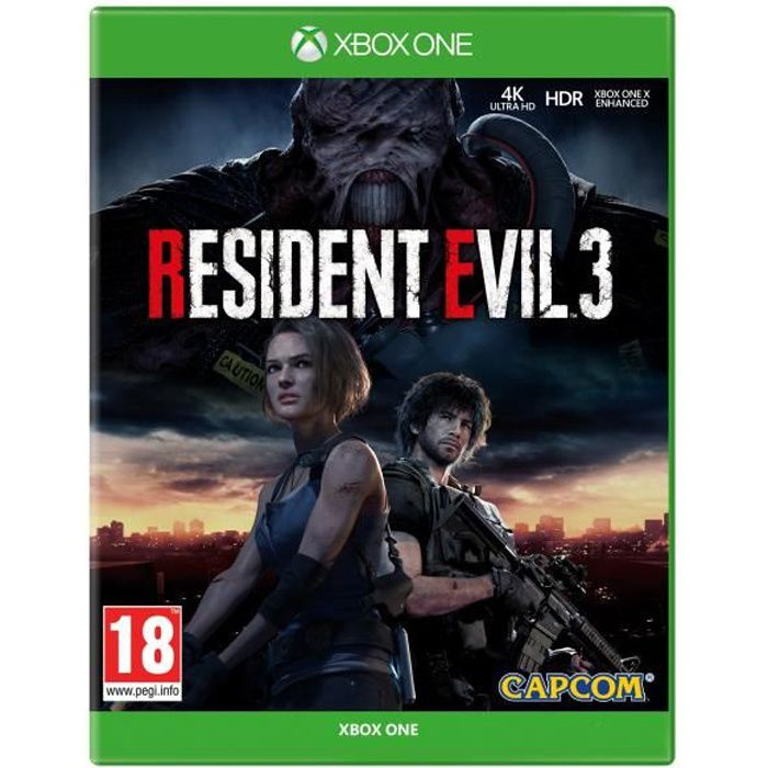 Resident Evil 3 Jeu Xbox One