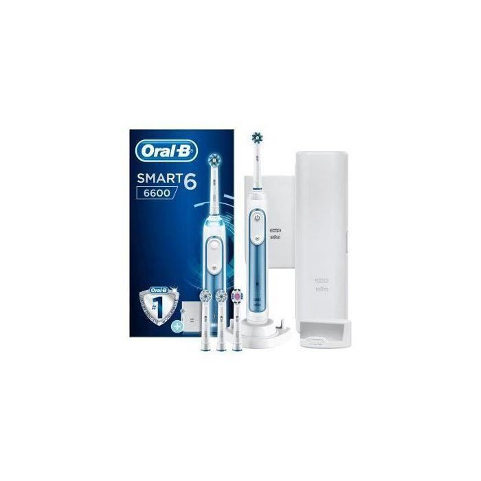 Oral-B Smart 6600 Blue Brosse à Dents électrique Rechargeable