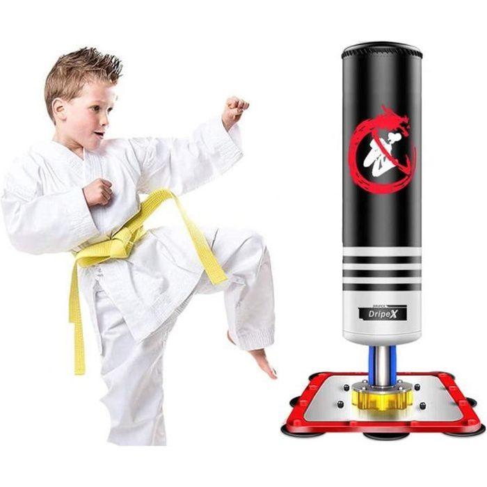 Dripex Sac de Frappe Enfant Punching Ball Enfant Sac de Boxe Stand - Noir