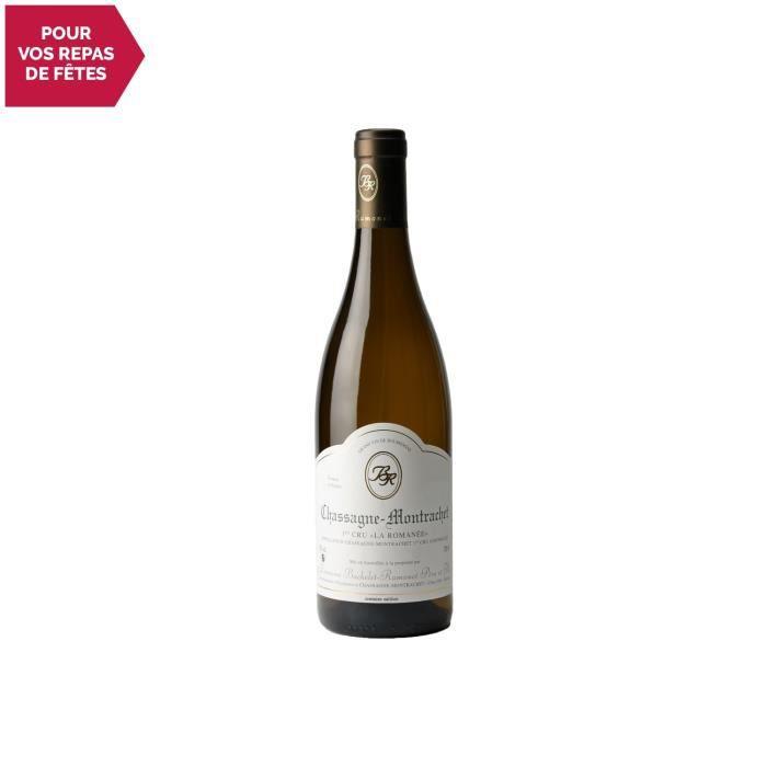 Chassagne-Montrachet 1er Cru La Romanée Blanc 2018 - 75cl - Domaine Bachelet-Ramonet - Vin AOC Blanc de Bourgogne - Cépage