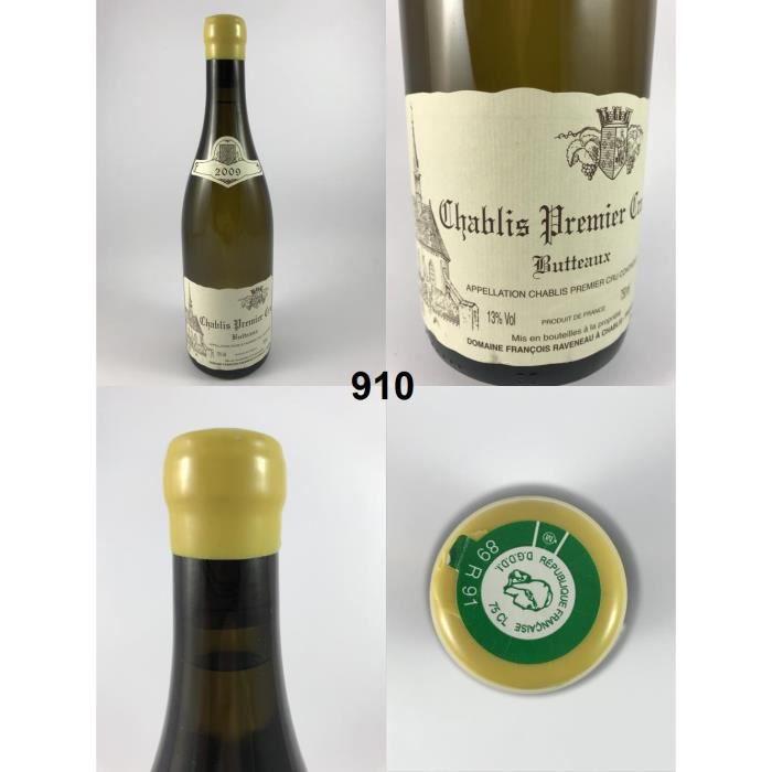 Chablis 1er Cru - Butteaux - Raveneau 2009 - N° : 910, Chablis, Blanc