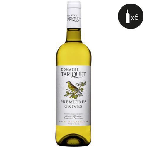 Tariquet Premières Grives Côtes de Gascogne Blanc 2020 6x75cl
