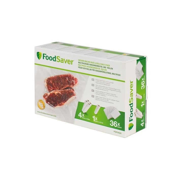 Pack complet consommable food saver ref.fgp252x