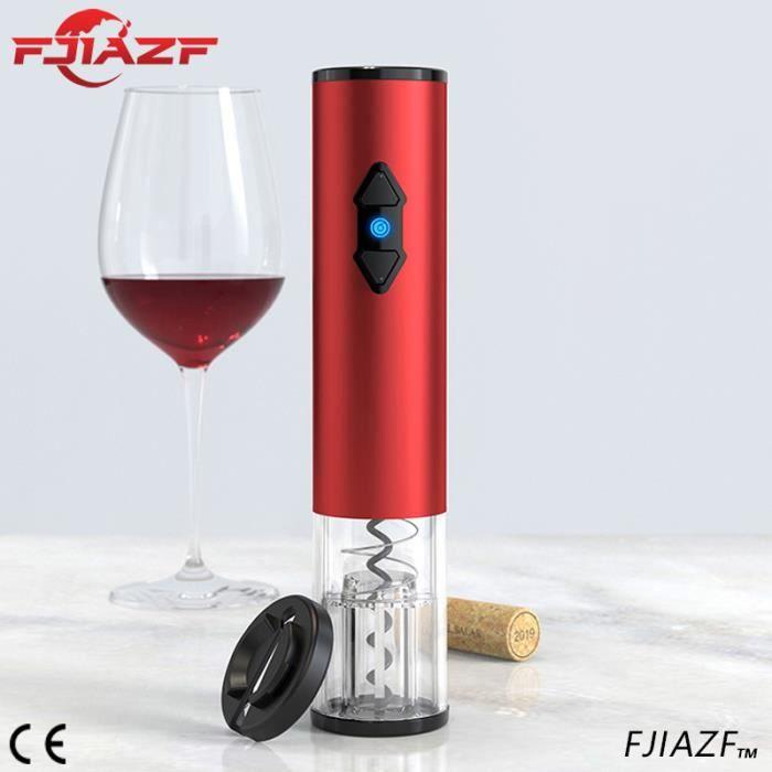 DUYAER®Tire Bouchon électrique, Ouvre-vin automatique professionnel, Ouvre-bouteille avec Coupe-papier