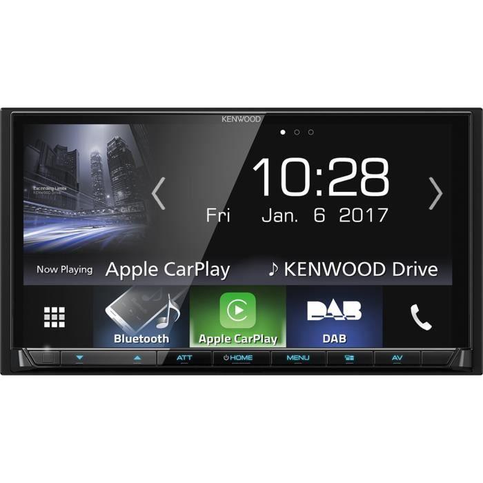 KENWOOD DMX-7017DABS Mediaceiver 2-Din DAB +