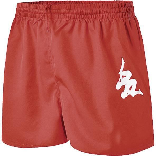 KAPPA Short rugby Sarno - Homme - Rouge