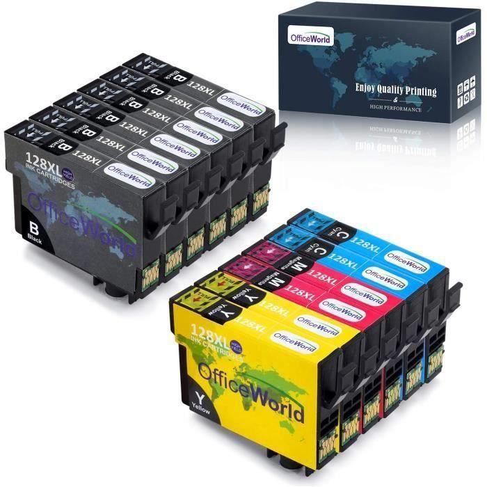 cartouche d encre epson t1285 t1281 t1282 t1283 t1284 compatible Epson Stylus SX235W SX445W SX420W