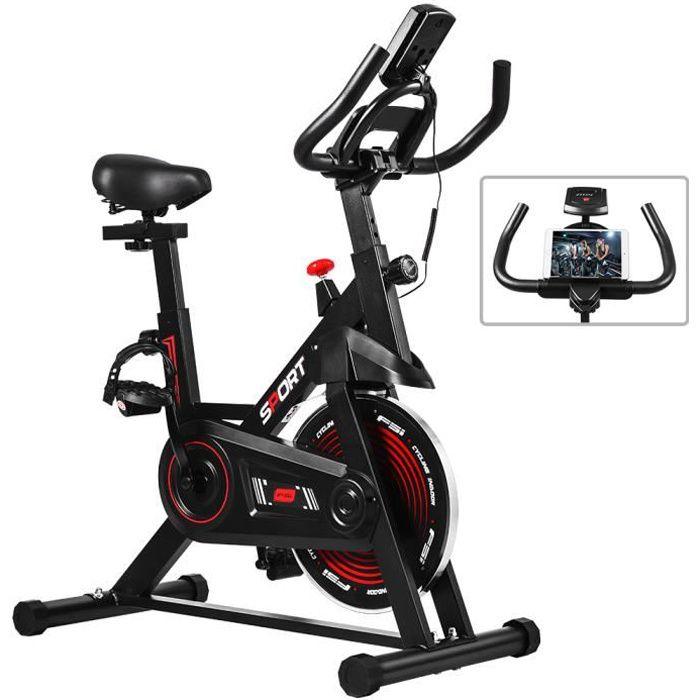 OneTwoFit Vélo d'appartement à l'Intérieur vélo d'exercice Stationnaire Cardio Entraînement OT281
