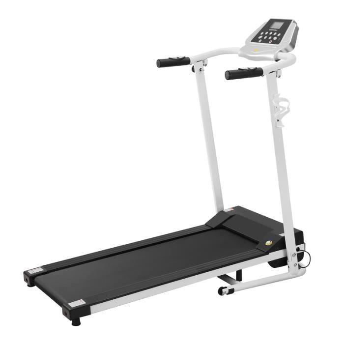 Motorisé Tapis Roulant des Ménages LCD Affichage Électrique Machine en Marches Pour Gym tapis de course fitness - musculation
