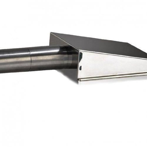 Reber 10029N Kit de fumage à froid en acier inoxydable, noir/gris - 10029 N