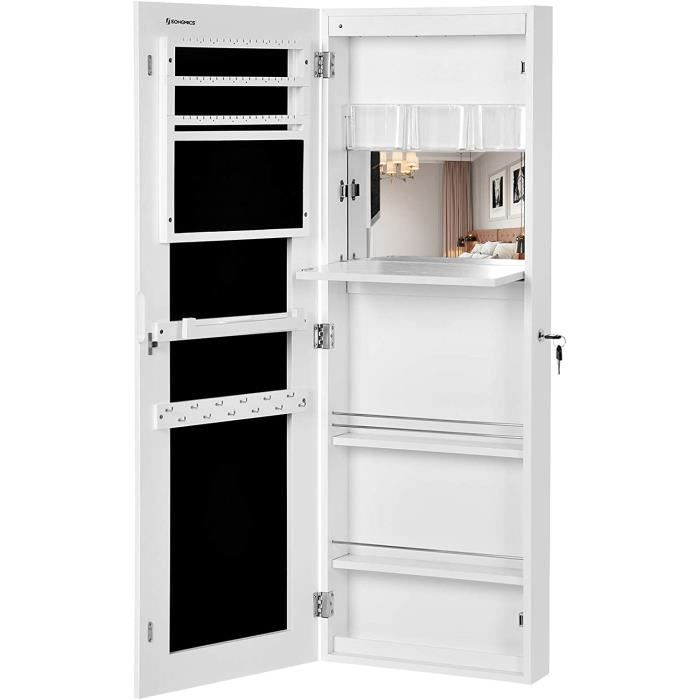 armoire a bijoux murale achat vente armoire a bijoux murale pas cher cdiscount. Black Bedroom Furniture Sets. Home Design Ideas