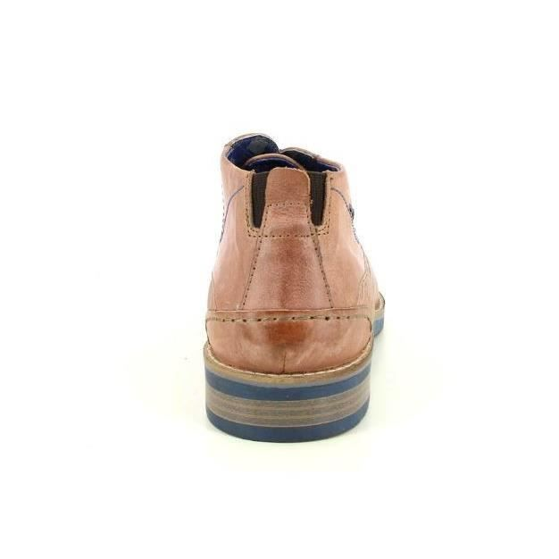 Bottines marrons