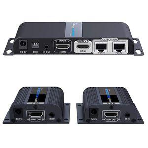Récepteur audio AGPtEK 1x2 Dispositif HDMI Extender / Splitter Ult