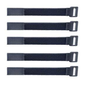 PIÈCE OUTIL DE MESURE Cable,Lot de 5-Noir-avec Crochet et Boucle Attache