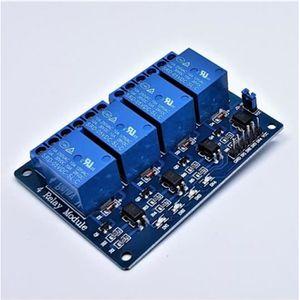 R SODIAL 4 Canal 5V Relais Relais Module Modules pour Arduino Logique TTL