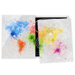 PLAQUE INDUCTION Couvre plaque de cuisson - Colorful Splashes World