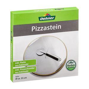 FOUR À PIZZA Dehner Pierre à pizza pour le grill et le four, Ø
