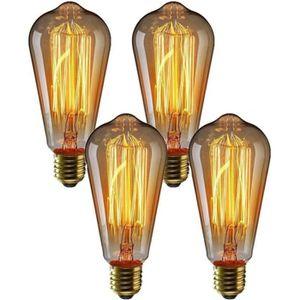 AMPOULE - LED Wolka 2 Pack E27 Ampoule Edison à Incandescence Vi