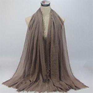 ECHARPE - FOULARD châle voile foulard longue viscose hijab pour femm