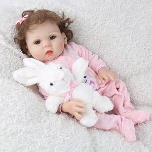 POUPÉE Belle Reborn bébé fille poupées corps entier Silic