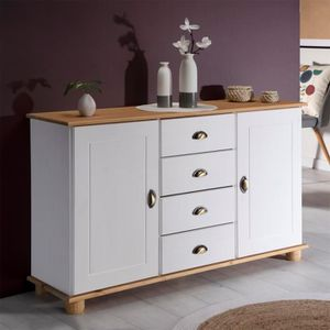 BUFFET - BAHUT  Buffet COLMAR commode bahut vaisselier meuble bas