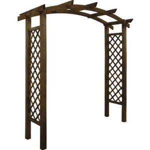 pergola treillis achat vente pergola treillis pas cher cdiscount. Black Bedroom Furniture Sets. Home Design Ideas