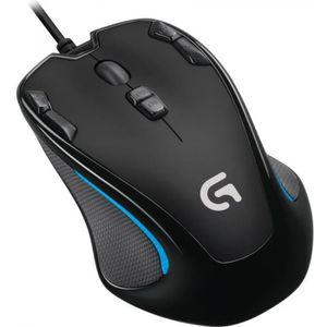 SOURIS Souris LOGITECH - Gaming Mouse G300s - Noir / Bleu