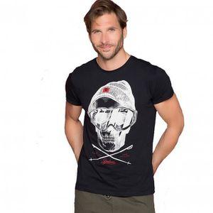 T-SHIRT T-shirt avec tête de mort LANDY - Couleur - White,