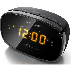 Radio réveil MUSE M-150 CR Radio réveil - Double alarme
