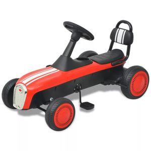 QUAD - KART - BUGGY  Kart à pédale rouge Jouets/vehicule Pour Enfant/q