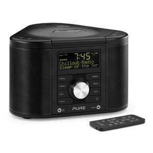 Radio réveil Pure Chronos CD Series II (Noir) - Radio-réveil…