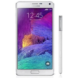 SMARTPHONE RECOND. Samsung Galaxy Note 4 Blanc 32 Go - Reconditionné