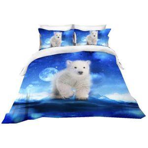Raie arctique couvre-lit