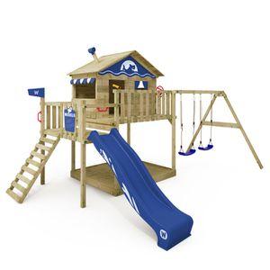 STATION DE JEUX Aire de jeux WICKEY Smart Coast Portique en bois T