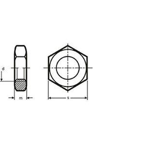 8/x 70 mm Lot de 10/vis hexagonaux en acier inoxydable M8