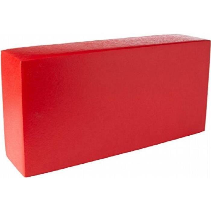 Jeu D'Assemblage 500 X 250 X 125 mm bloc de construction géant (rouge) RH17F