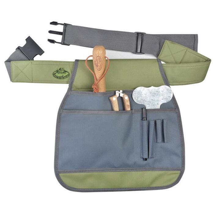 Tool , Duty Belts Ceinture de jardinier porte-outil grise Esschert Design GT87