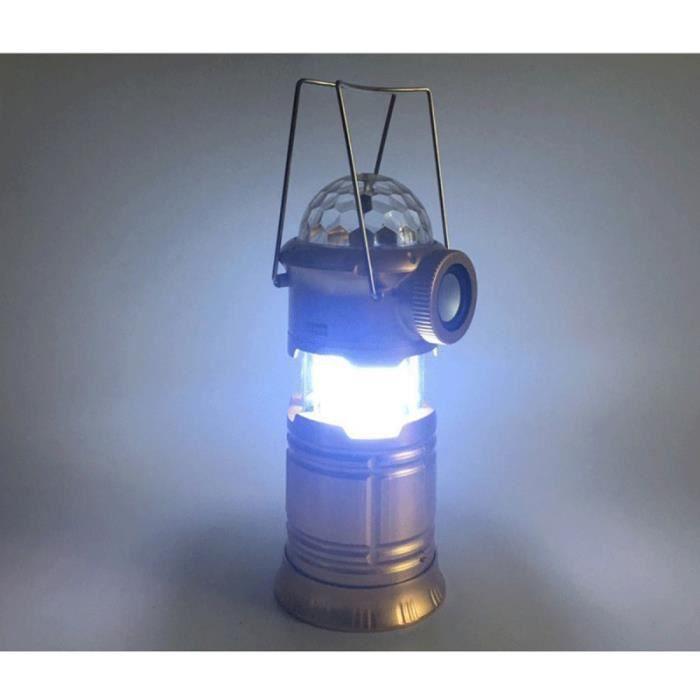 Lampe de scène pliable Camping Bluetooth lampe de poche musicale étanche pour la LAMPE ELECTRIQUE - LAMPE DE POCHE - BALADEUSE