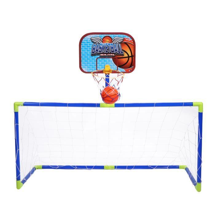 Qutianshop® Cages et Mini But de Football Ensemble Jeux de Plein Air et Sport Set EntraInement de Foot pour Enfants
